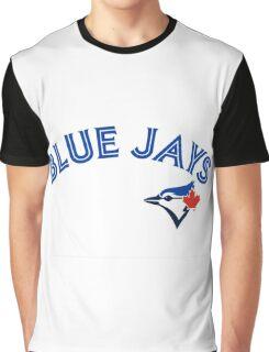 Toronto Blue Jays Wordmark with logo Graphic T-Shirt