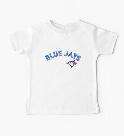 Toronto Blue Jays Wordmark with logo Baby Tee