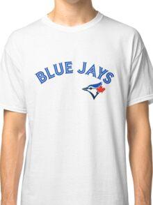 Toronto Blue Jays Wordmark with logo Classic T-Shirt