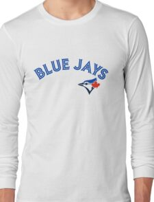 Toronto Blue Jays Wordmark with logo Long Sleeve T-Shirt