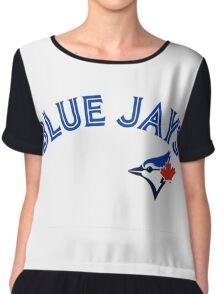 Toronto Blue Jays Wordmark with logo Chiffon Top