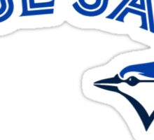 Toronto Blue Jays Wordmark with logo Sticker