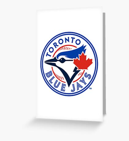 Toronto Blue Jays logo Greeting Card
