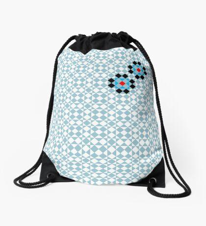 Math Tessellation Pattern Drawstring Bag