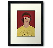 Joe Harper Framed Print