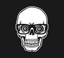 Skull with Glasses by lonelycreations