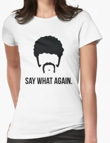 Say What Again - Pulp Fiction Womens Fitted T-Shirt