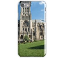 Washington National Cathedral Side Exterior iPhone Case/Skin