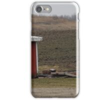 Red Shed iPhone Case/Skin