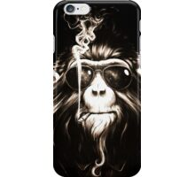Smoking Monkey iPhone Case/Skin