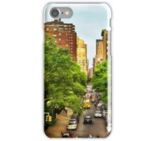 10th Ave and W 26th St New York City iPhone Case/Skin