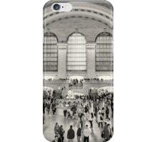 Grand Central Terminal monochrome iPhone Case/Skin