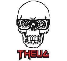 THEUG Skull Photographic Print