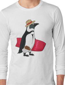 Surfing bird Long Sleeve T-Shirt