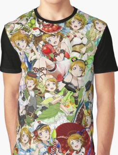 hanayo everywhere Graphic T-Shirt