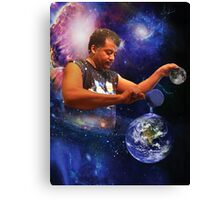 Neil DeGrasse Tyson: Planet Earth Canvas Print