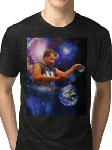 Neil DeGrasse Tyson: Planet Earth Tri-blend T-Shirt