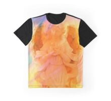 Angel Of Peace Holding Dove by Marie Sharp Graphic T-Shirt