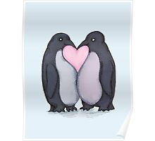 Penguin Kisses  Poster