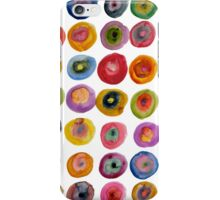 Color Rings iPhone Case/Skin