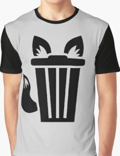 Furry Trash Icon Graphic T-Shirt