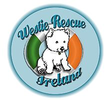 Support Westie Rescue Ireland Photographic Print