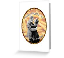 Jumpman Chicken Wings, Fries Greeting Card