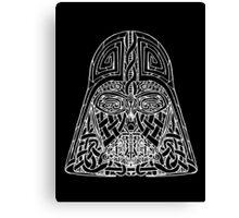 Celtic Darth Vader Canvas Print