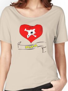 cubone loves mom  Women's Relaxed Fit T-Shirt
