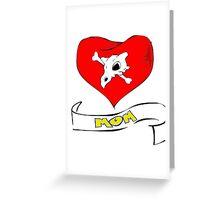 cubone loves mom  Greeting Card