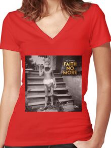 Faith No More: Sol Invictus Women's Fitted V-Neck T-Shirt