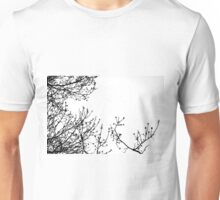 Zebra Branches Unisex T-Shirt