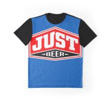 Just Beer Graphic T-Shirt