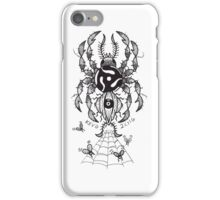 45 RPM SPIDER iPhone Case/Skin