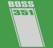 Boss 351 Kids Tee