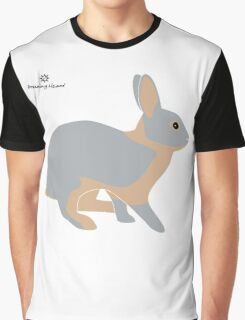 lilac tan rabbit Graphic T-Shirt