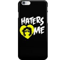 "JordanJoMo ""Haters Love Me"" iPhone Case/Skin"