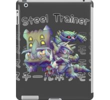 Steel  iPad Case/Skin