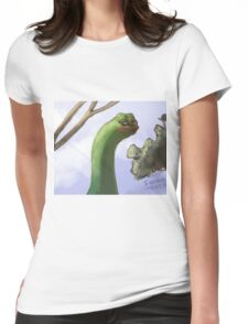 Rare Pepe Meme Womens Fitted T-Shirt