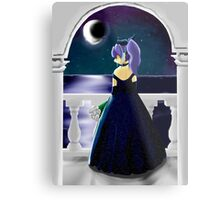 Under the Midnight Moon Metal Print
