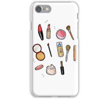 Makeup gal iPhone Case/Skin