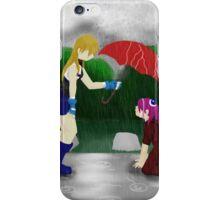 An Umbrella in the Rain iPhone Case/Skin
