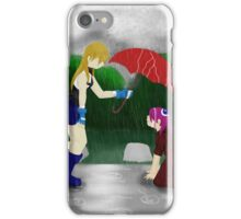 An Umbrella in the Rain iPhone Case/Skin
