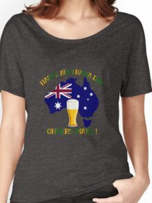 Happy Australia Day Women's Relaxed Fit T-Shirt
