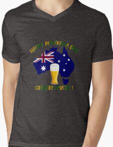 Happy Australia Day Mens V-Neck T-Shirt