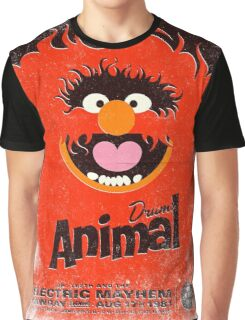 Drums Animal Graphic T-Shirt
