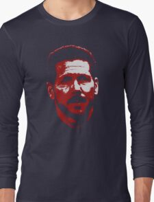 Diego Simeone Atletico Madrid Long Sleeve T-Shirt