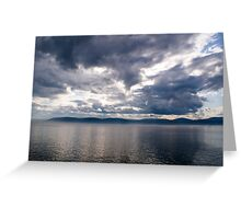 Maritime Stormclouds Greeting Card