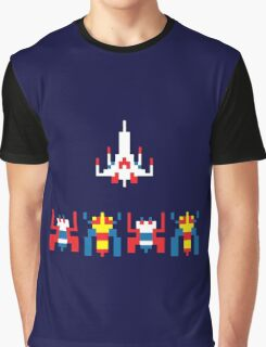 Galaga Game Graphic T-Shirt