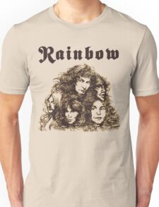 Long Live Rock and Roll Rainbow Unisex T-Shirt